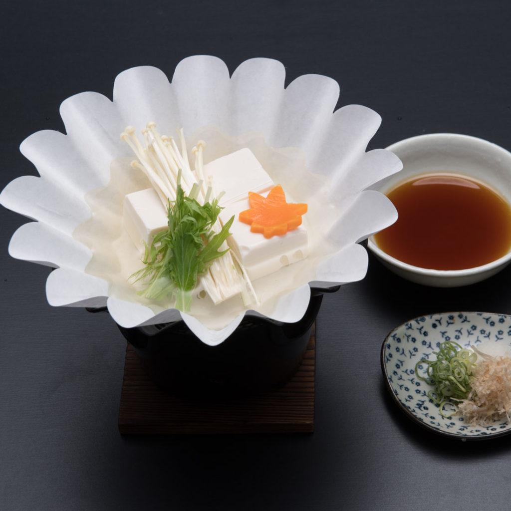 湯豆腐 五〇〇円|喜撰茶屋|きせんちゃや